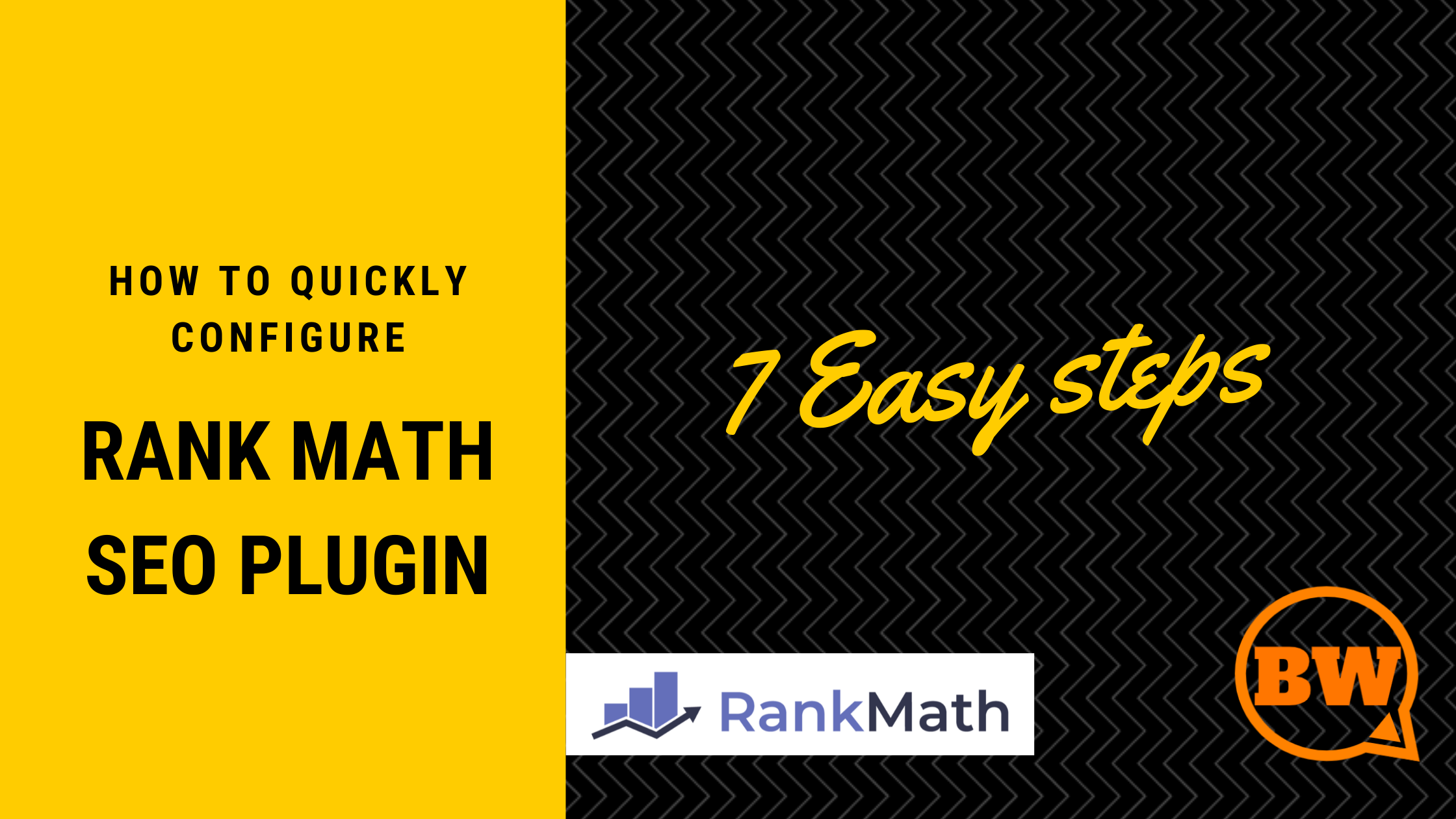 how to quickly configure rank math seo plugin